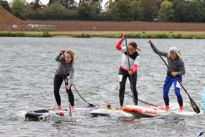 Island SUP Members in competition